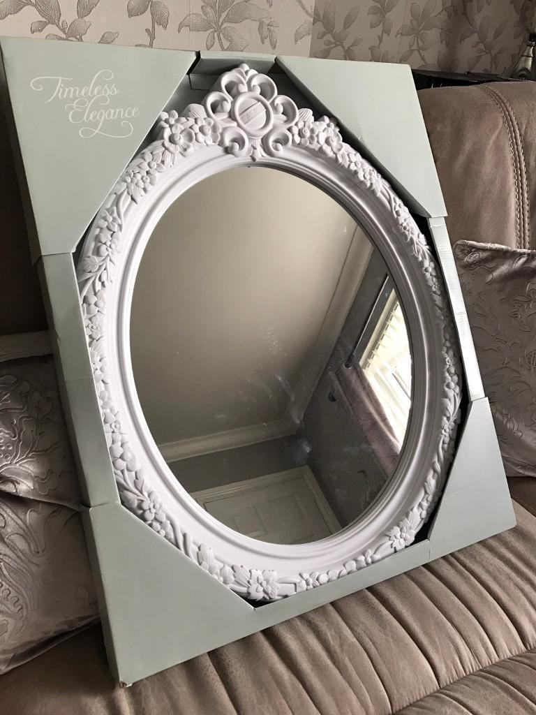 Vintage Ornate Mirror White New | In Great Barr, West Midlands Inside Vintage Ornate Mirror (Image 19 of 20)