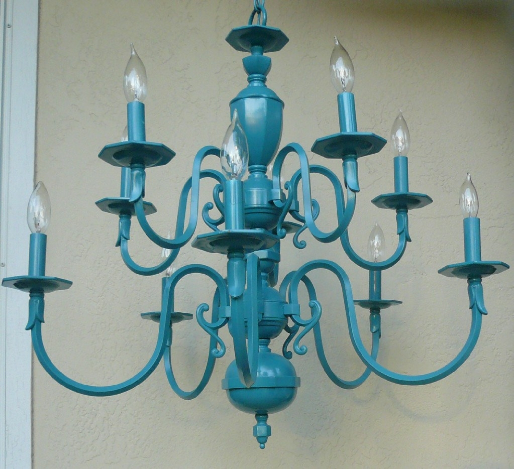 Vintage Turquoise Chandelier Sideways Shop Azure Turqu Flickr Inside Turquoise Empire Chandeliers (Image 25 of 25)