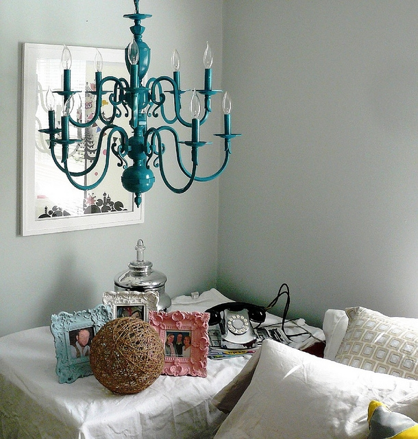 Vintage Turquoise Chandelier Turquoise Chandelier Vintage For Turquoise Color Chandeliers (View 24 of 25)
