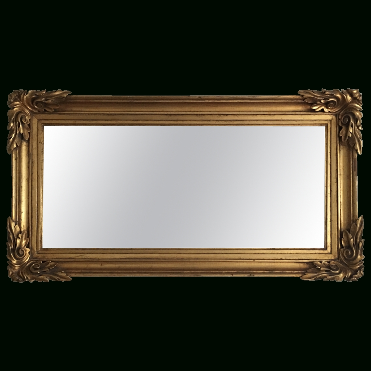 Viyet – Designer Furniture – Accessories – Antique Gold Gilt Mirror For Gold Gilt Mirror (Image 18 of 20)