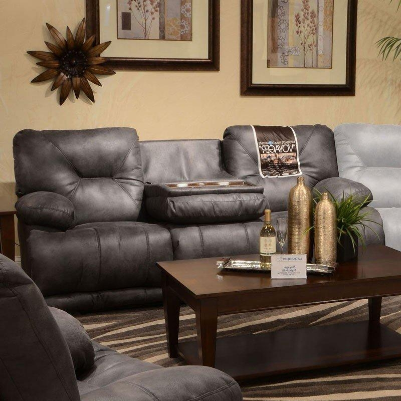 Voyager Power Lay Flat Reclining Sofa (Slate) Catnapper Within Catnapper Reclining Sofas (View 10 of 20)