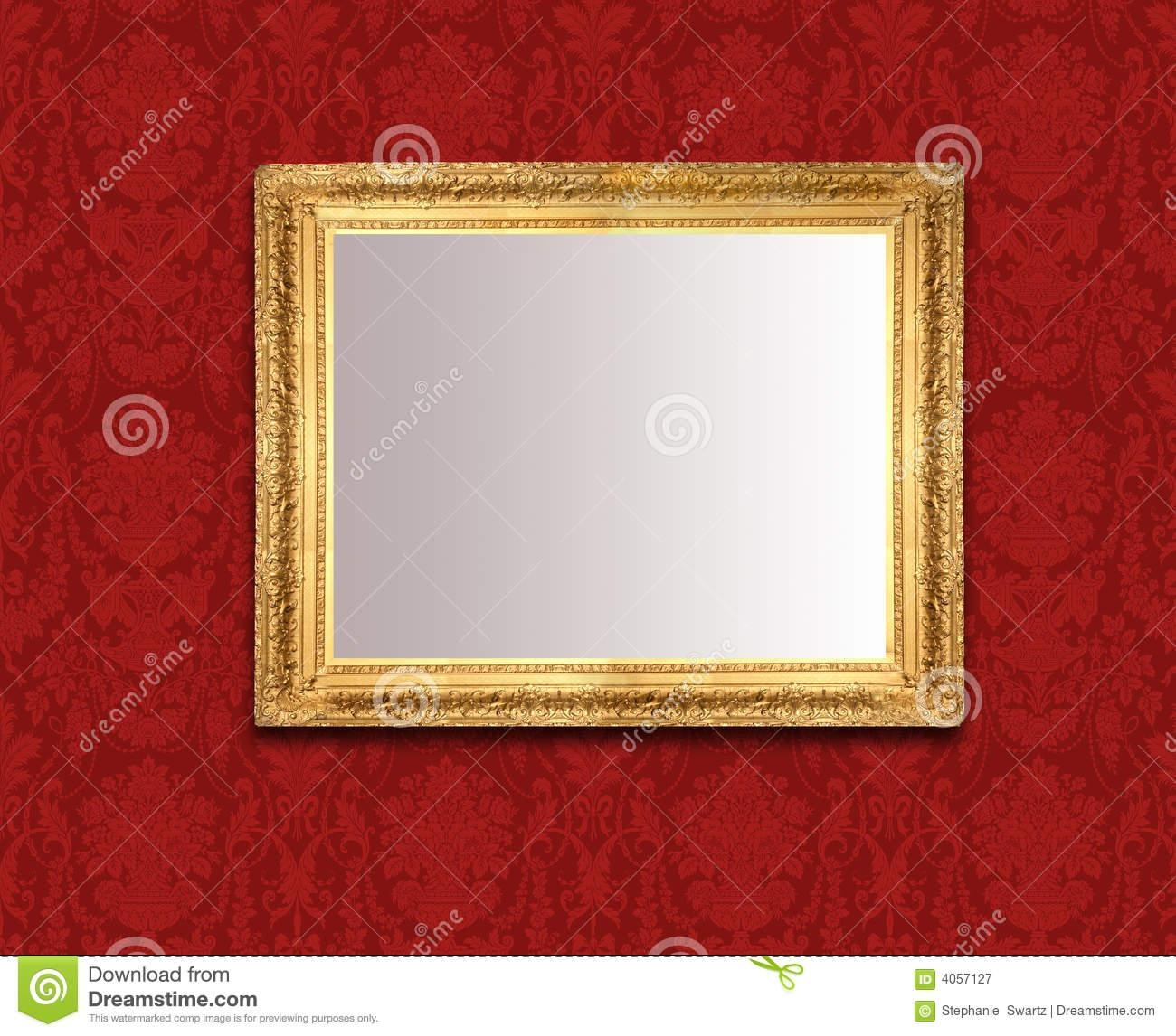 Featured Image of Red Wall Mirror