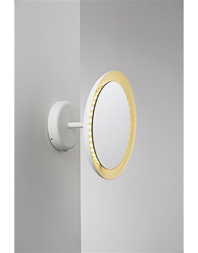 Wall Light Bathroom Mirror Led White 8W Ip44 300Mm Ø – Myplanetled Regarding Mirror Wall Light (Image 19 of 20)