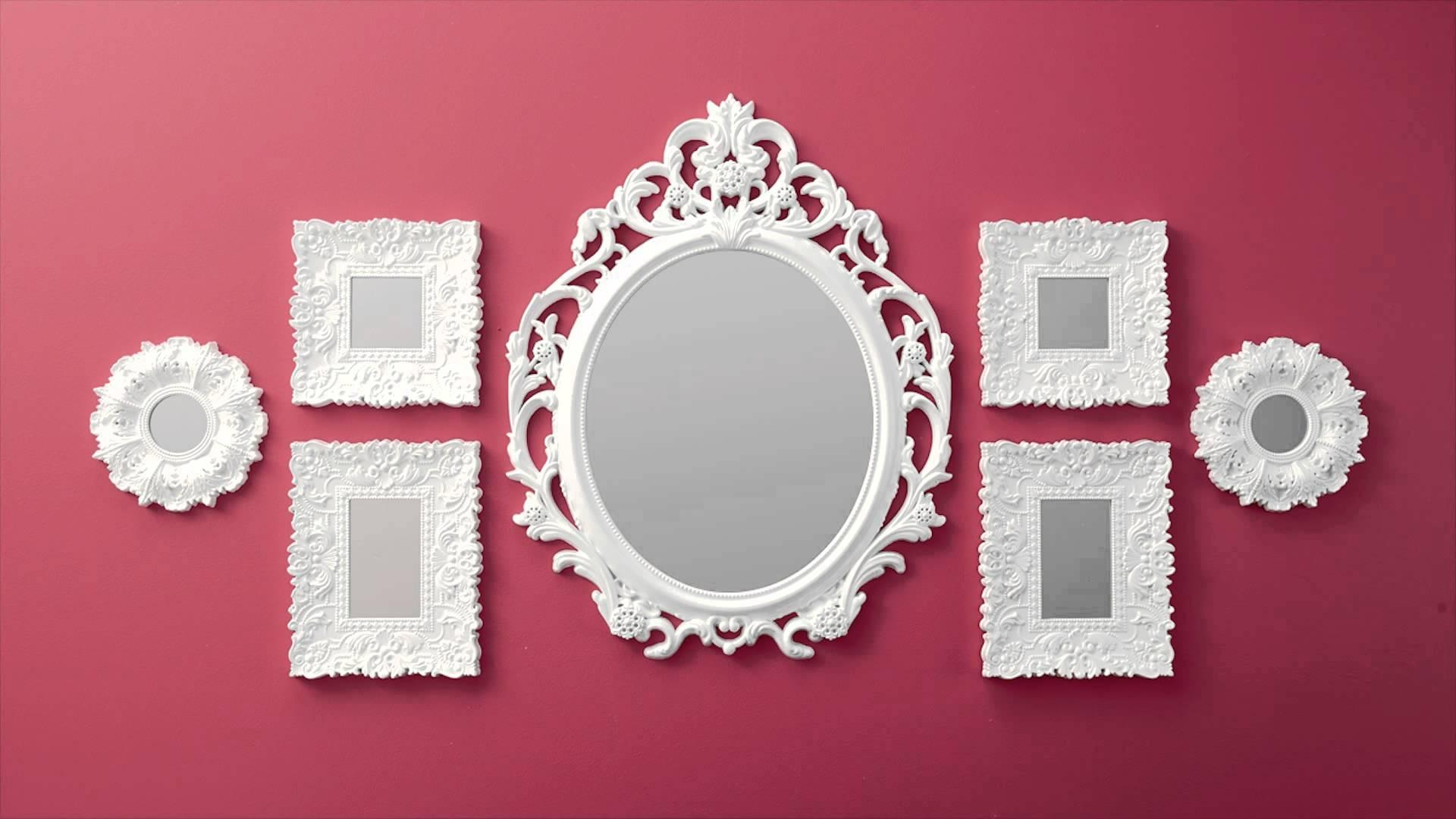 Wall Mirrors At Walmart D233Cor Wonderland Fortune Modern Throughout Small Baroque Mirror (Image 20 of 20)