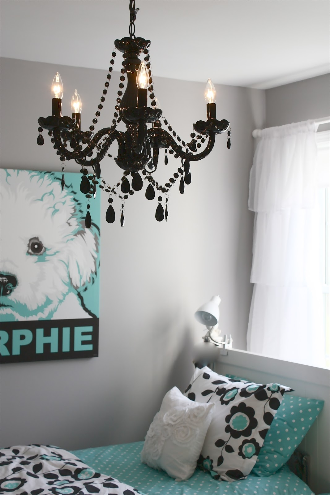 Wall Mounted Black Chandeliers Bedroom Howiezine With Regard To Wall Mounted Chandeliers (Image 22 of 25)