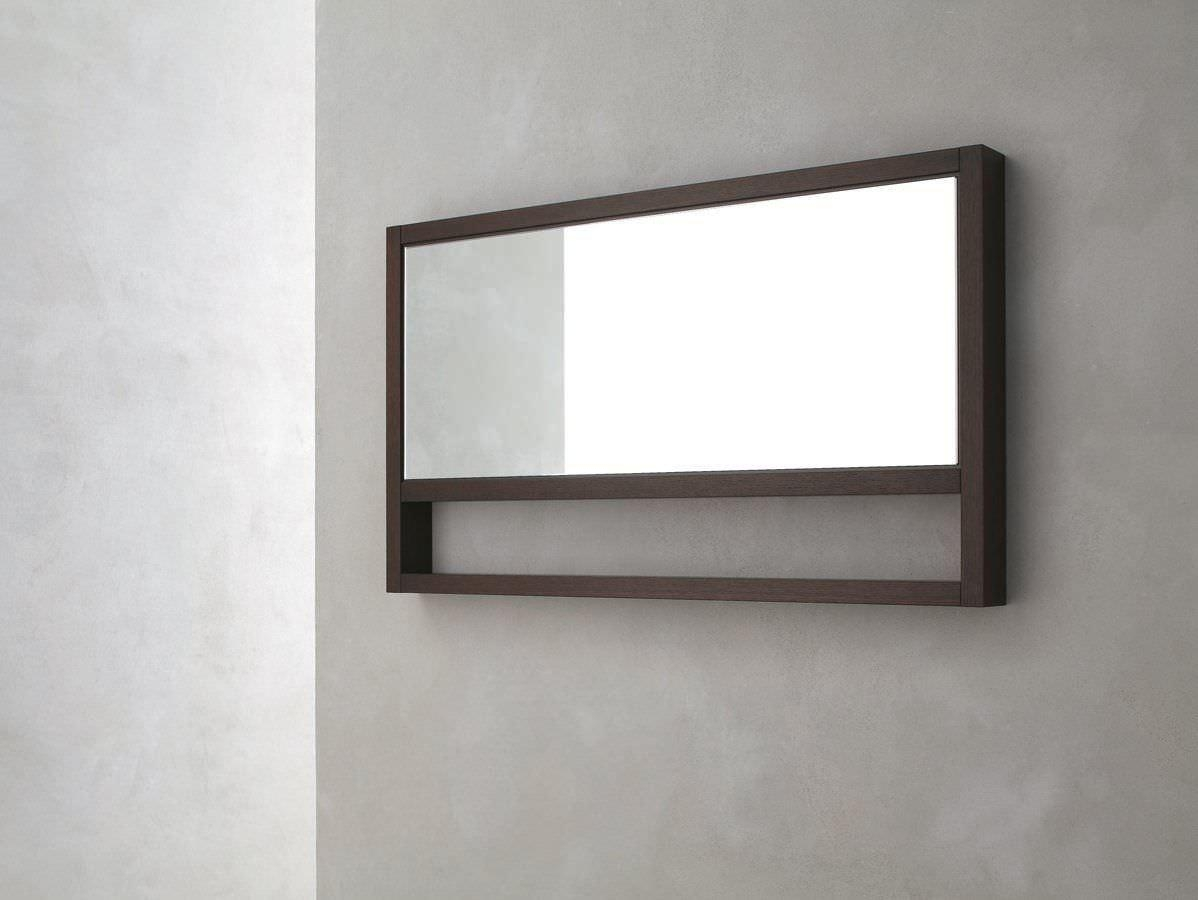 Wall Mounted Mirror / Contemporary / Rectangular / Wooden Regarding Mirrors Contemporary (Image 20 of 20)