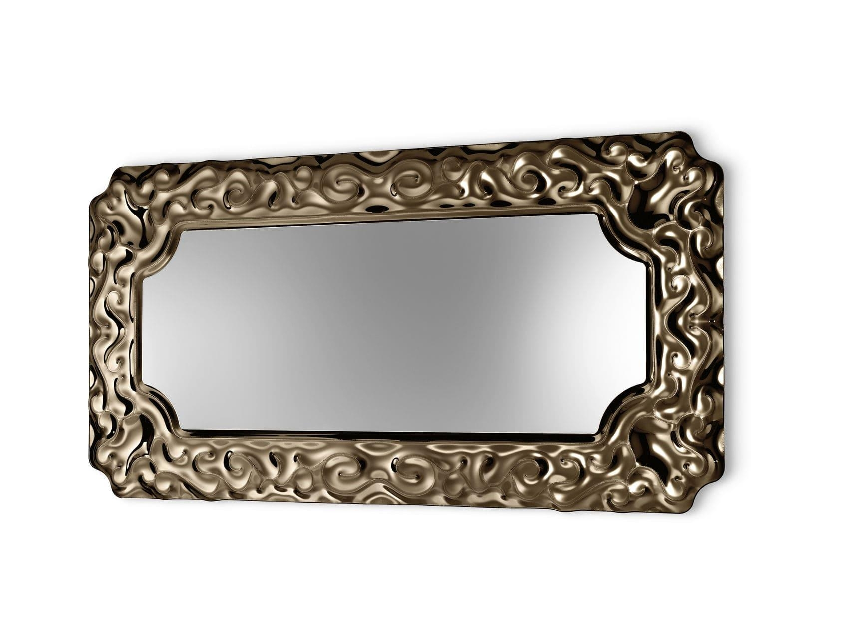 Wall Mounted Mirror / New Baroque Design / Metal – New Baroque For Baroque Wall Mirror (View 13 of 20)
