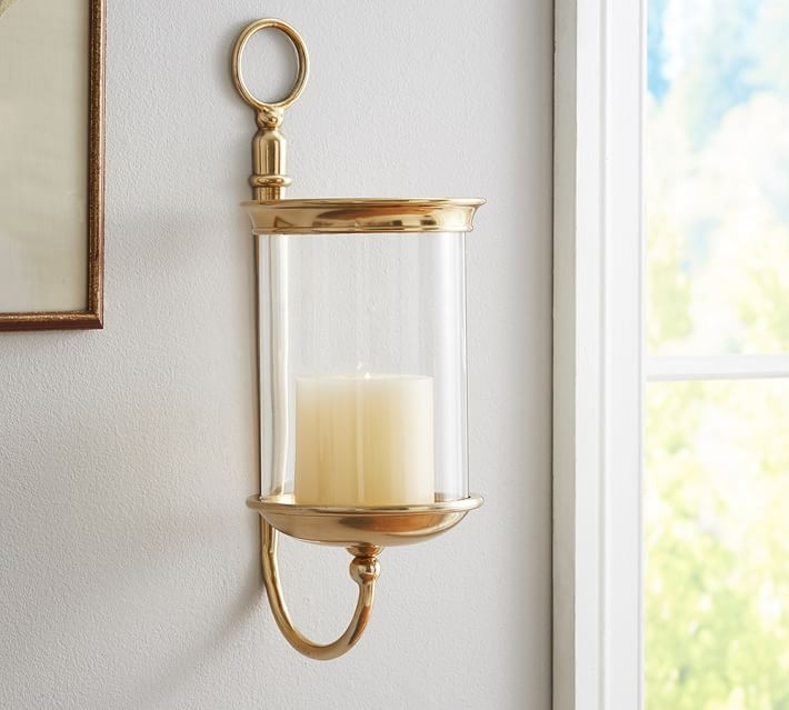 Wall Mounted Votive Candle Holder Candle With Regard To Wall Mounted Candle Chandeliers (Image 23 of 25)