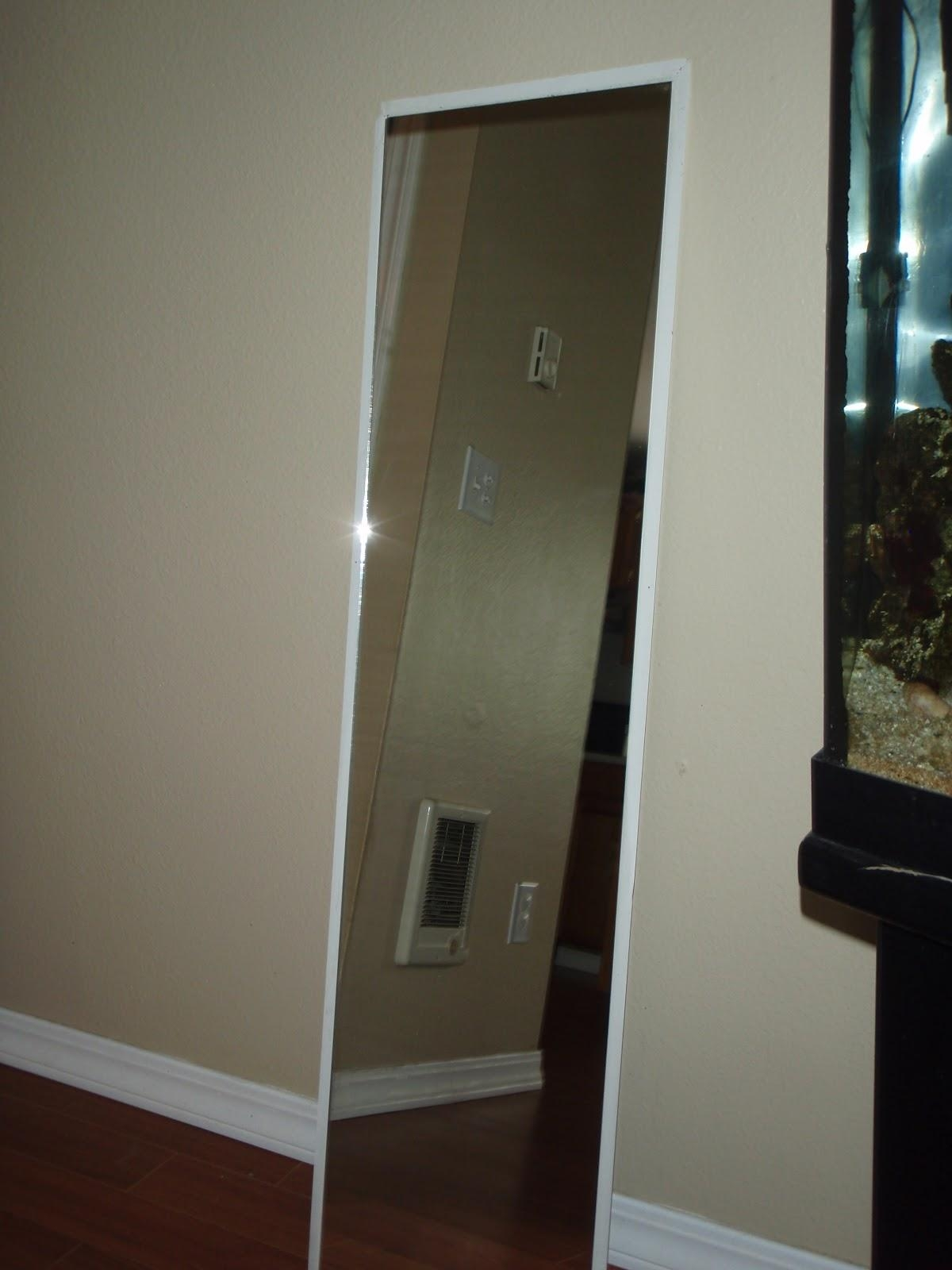 Walmart Mirrors Full Length Mainstays 48 X 12 Beveled Door Mirror For Beveled Full Length Mirror (Image 20 of 20)