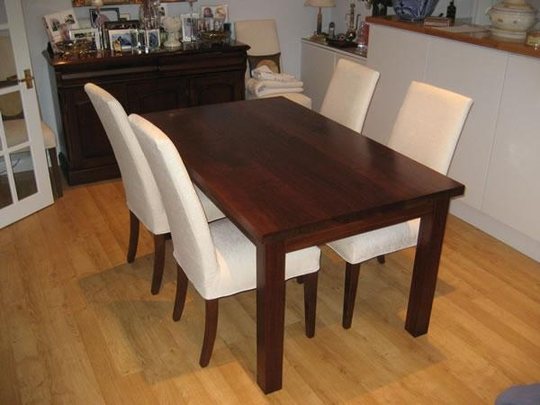 Walnut Dining Table And Chairs – Durable Walnut Dining Table Throughout Walnut Dining Tables And Chairs (Image 14 of 20)