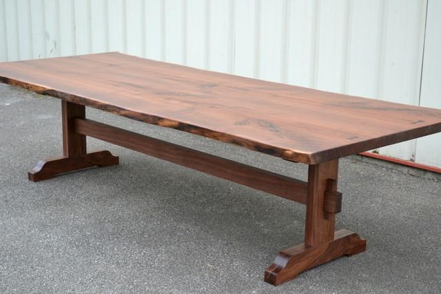 Walnut Dining Table For The Dining Room – Www (Image 17 of 20)