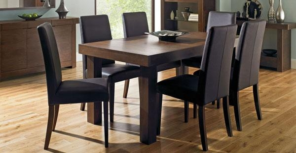 Walnut Furniture: Dining Chairs, Tables, Bedroom Furniture – Cfs Uk Throughout Walnut Dining Tables And Chairs (Image 18 of 20)