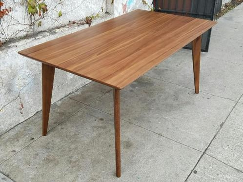 Walnut Sleek Dining Table | Sunbeam Vintage With Sleek Dining Tables (Image 19 of 20)