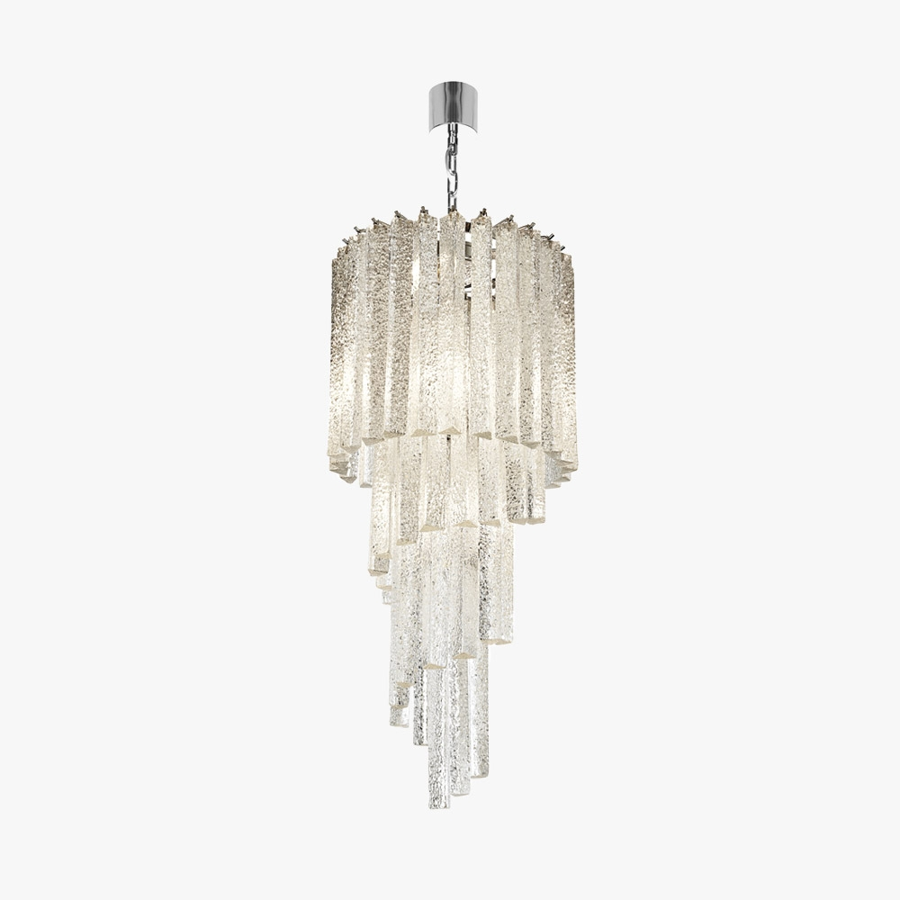 Waterfall Chandelier Ceiling Lights Bella Figura The Worlds Within Waterfall Chandeliers (Image 20 of 25)