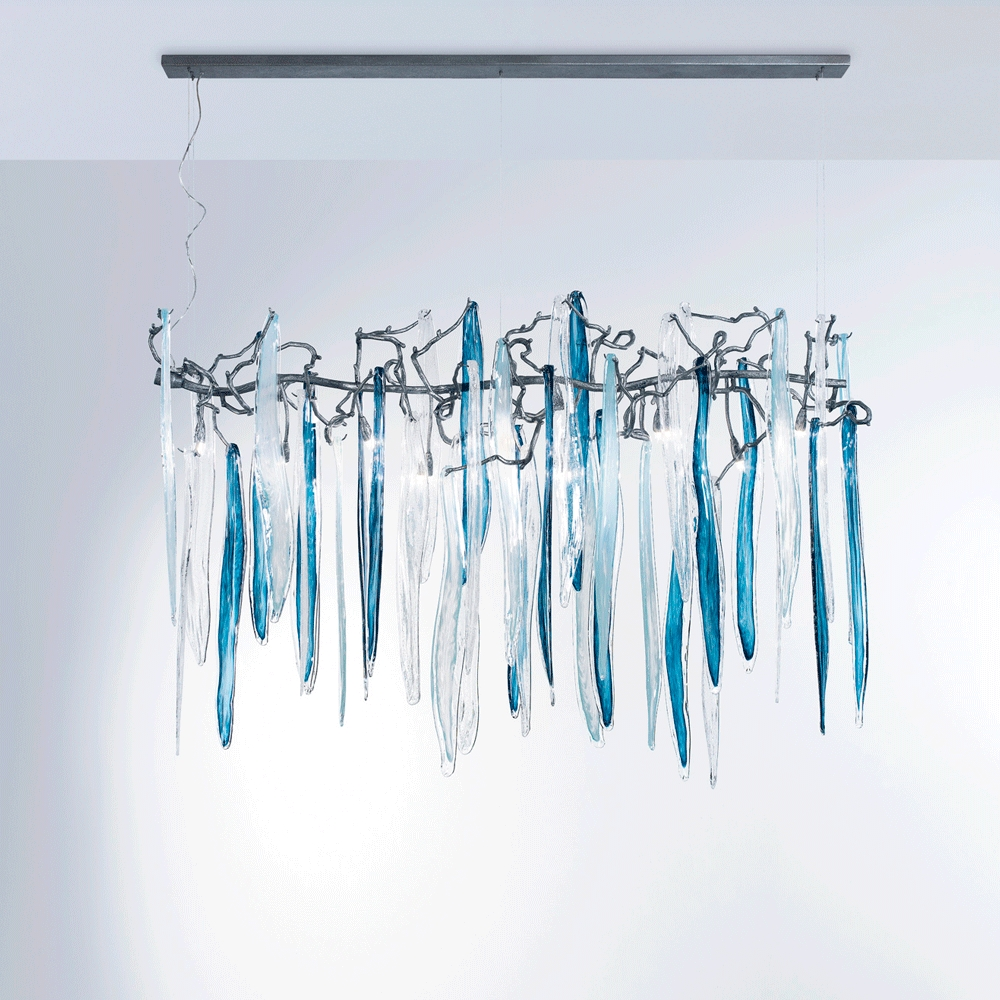 Waterfall Chandelier Horizontal Serip America Intended For Waterfall Chandeliers (Image 22 of 25)