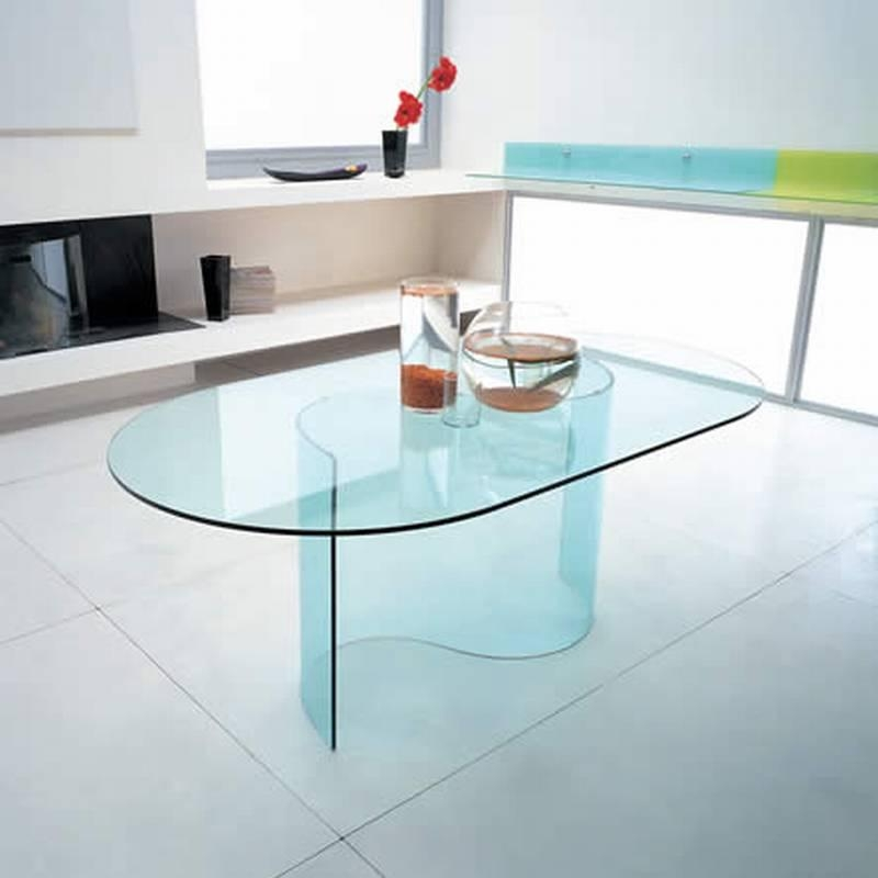 Wave Dining | Dining Table | Bent Glass | Curved Glass | Dining With Regard To Curved Glass Dining Tables (Image 20 of 20)