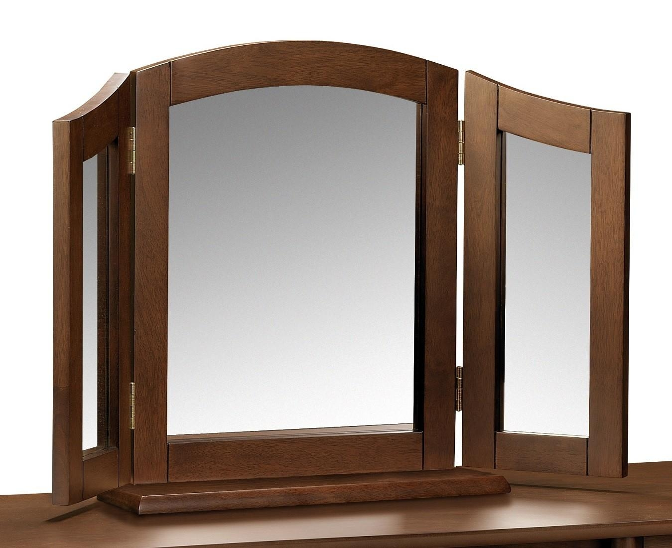 Westminster Triple Dressing Table Mirror | Oak Furniture Uk With Regard To Dressing Table Mirrors (Image 18 of 20)