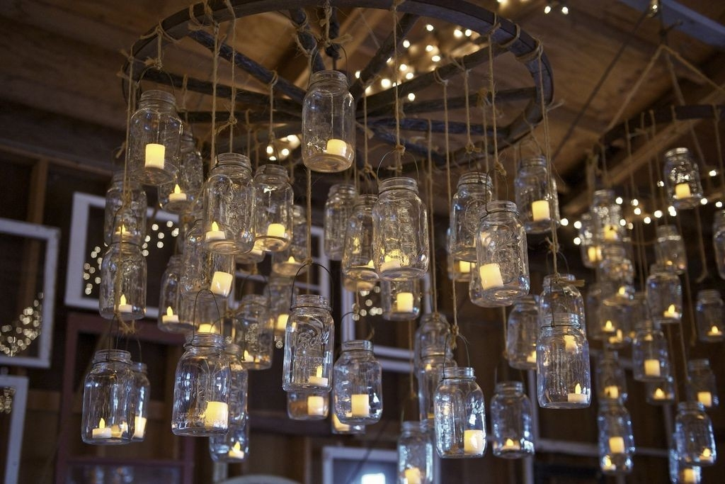 Which Hanging Tea Light Candle Chandelier Is Perfect In Your Mind With Hanging Candle Chandeliers (Image 24 of 25)
