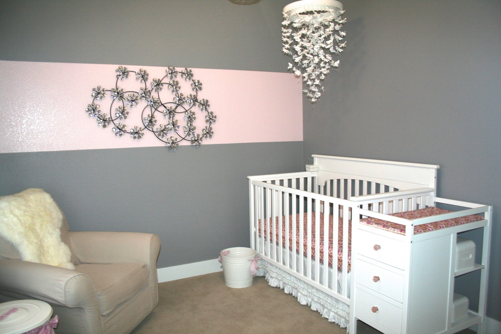 White Chandelier For Nursery White Ba Room Chandelier Pear With Regard To Mini Chandeliers For Nursery (Image 25 of 25)