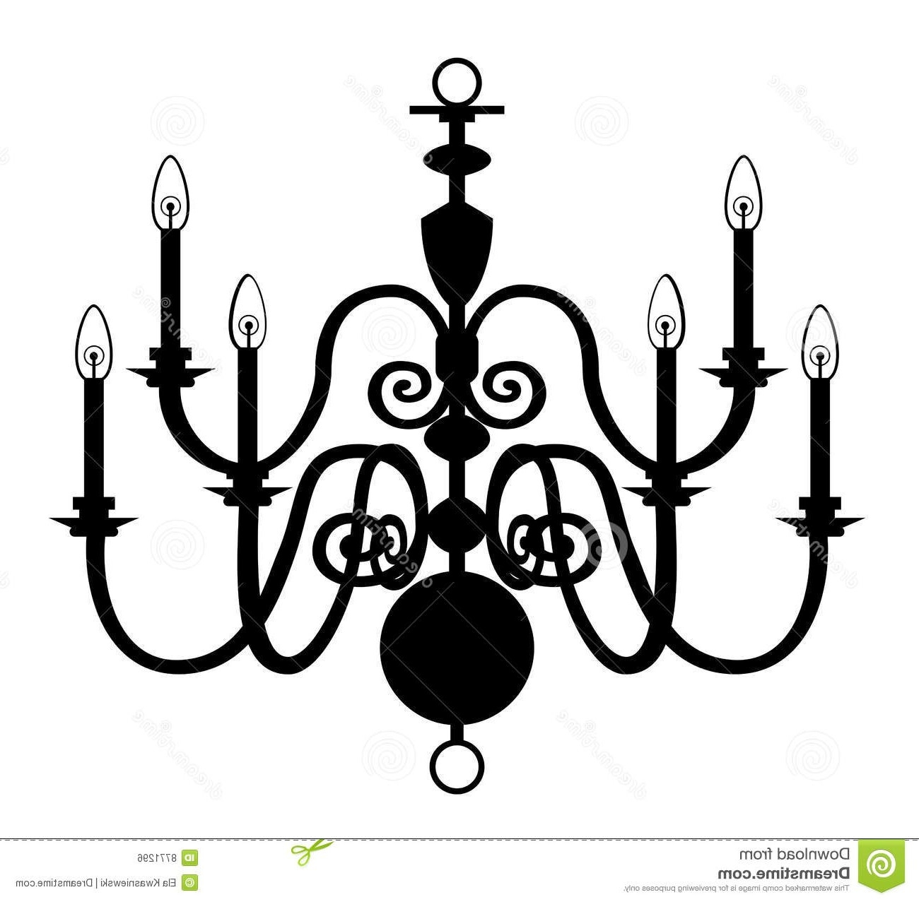 White Chandeliers Clipart Illuminate Life Inside Clip On Chandeliers (View 12 of 25)
