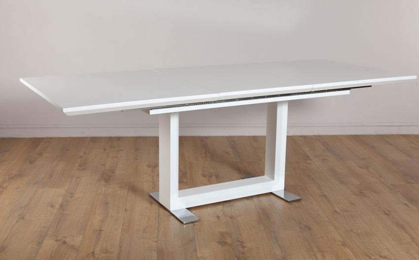 White Dining Table. (Image 18 of 20)