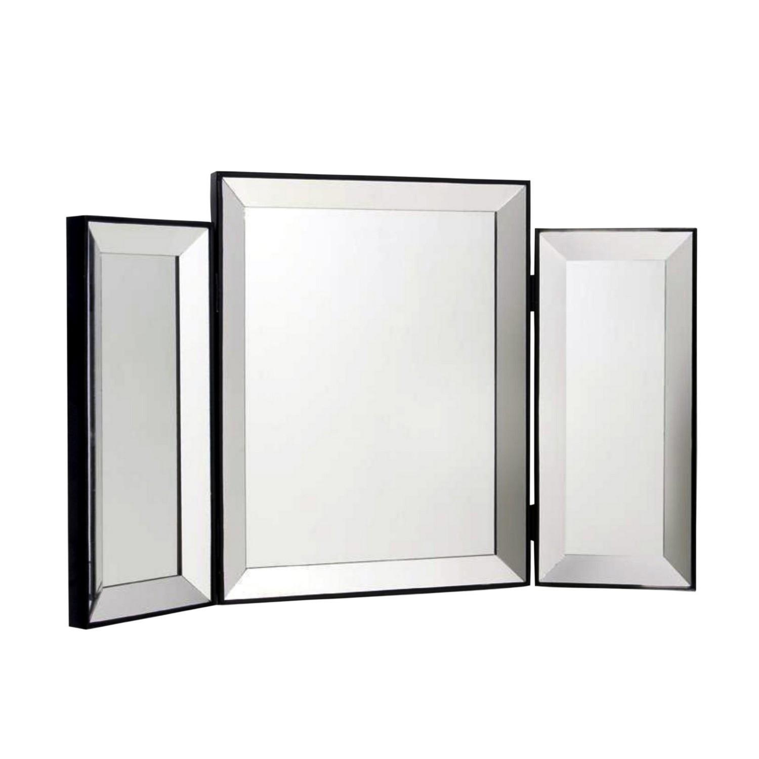 White Dressing Table Mirror With Regard To Dressing Table Mirrors (Image 19 of 20)