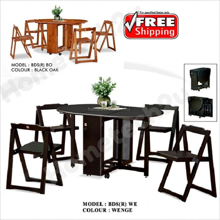 White Folding Dining Table And Chairs With Regard To Black Folding Dining Tables And Chairs (Image 20 of 20)