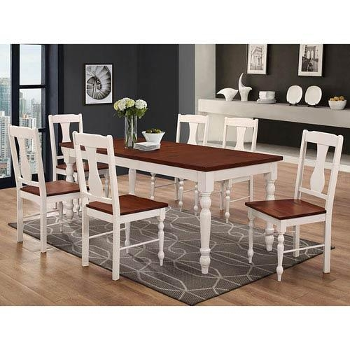 White Legs Dining Table | Bellacor Pertaining To Dining Tables With White Legs (Image 17 of 20)