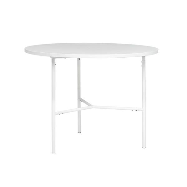White Melamine Dining Table With White Melamine Dining Tables (View 8 of 20)