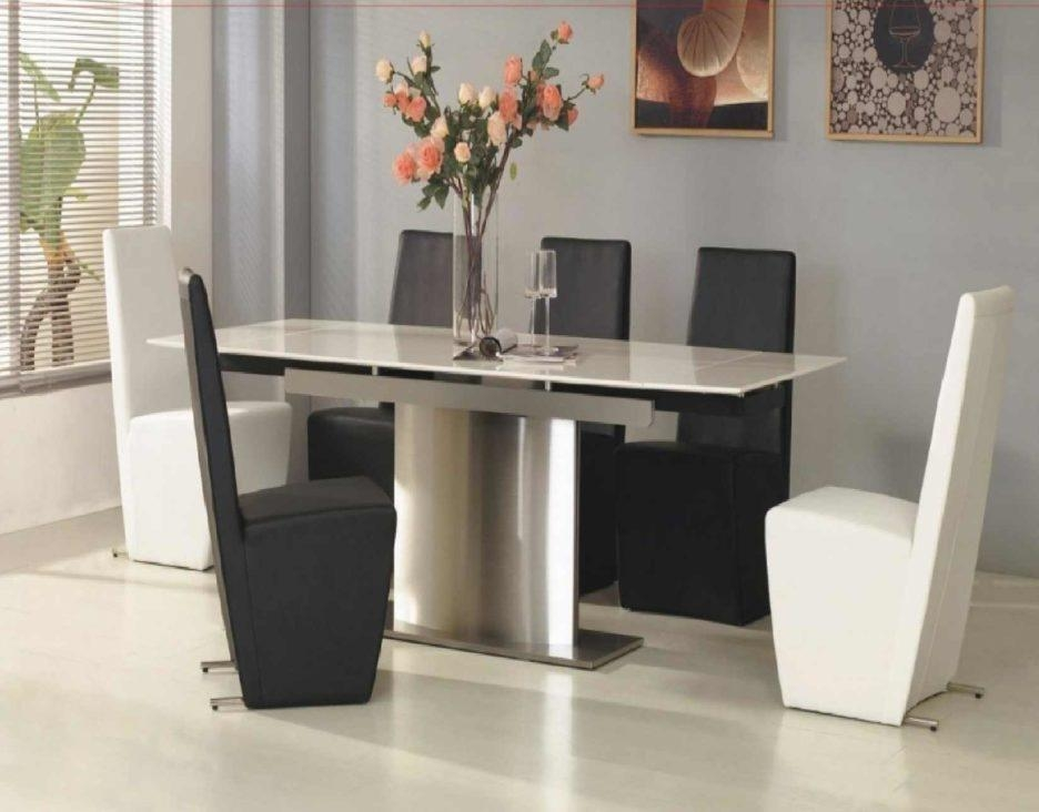 White Melamine Dining Table With White Melamine Dining Tables (View 2 of 20)