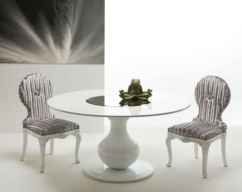 White Round Dining Table Design Best 25+ Round Dining Room Tables With Large White Round Dining Tables (Image 17 of 20)