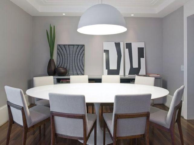 Featured Image of Large White Round Dining Tables