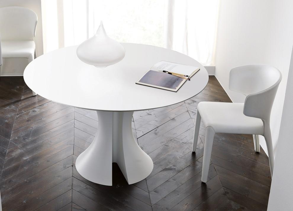 20 Ideas Of Round White Extendable Dining Tables Dining