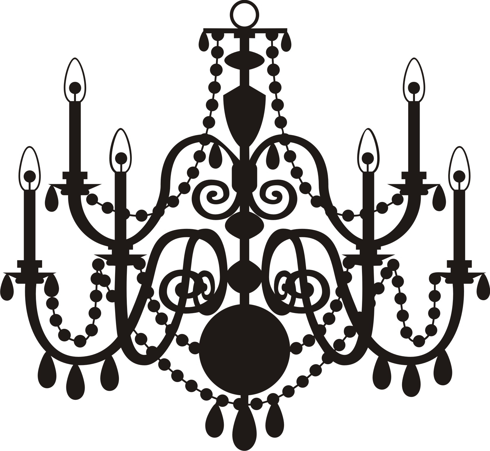 Whiteier Clip Art Tm54ur Clipart Outstanding Free Photo Concept Throughout Clip On Chandeliers (Image 25 of 25)
