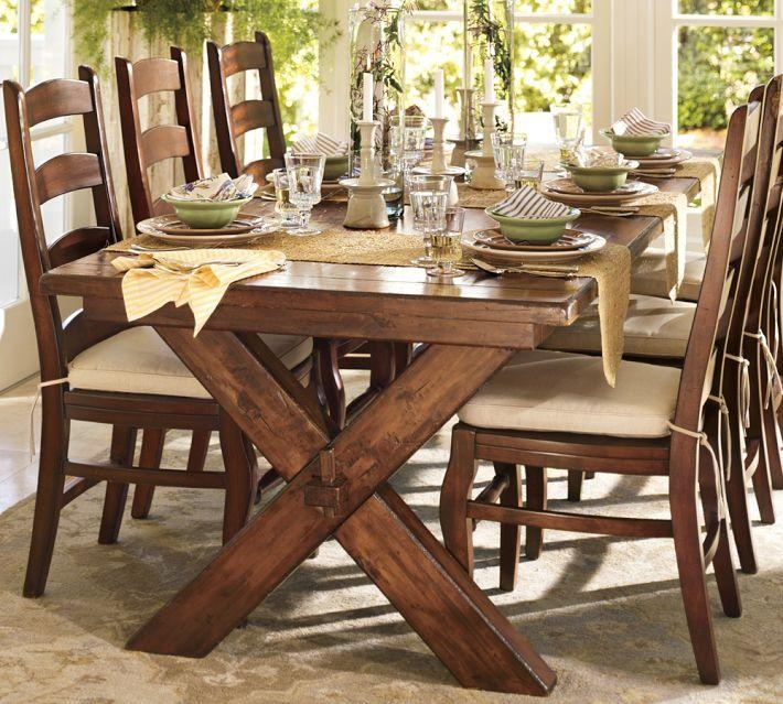 Why You Should Always Listen To Pottery Barn (A Bench Story For Toscana Dining Tables (Image 20 of 20)