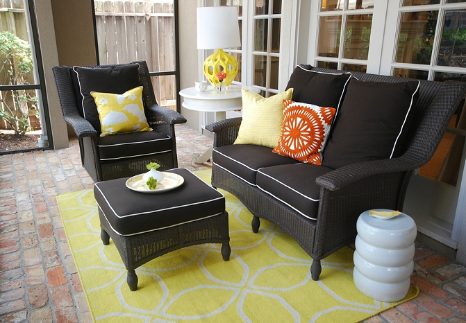 Wicker Chair Design Ideas Intended For Black Wicker Sofas (Image 17 of 20)