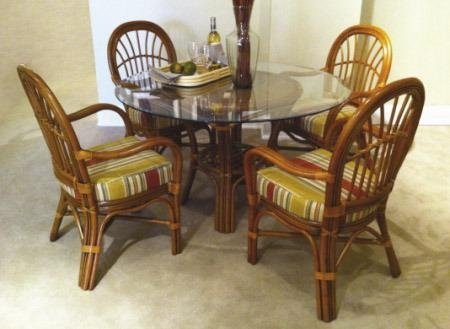 Wicker Dining Room Sets – Home Design Ideas And Pictures In Rattan Dining Tables And Chairs (Image 20 of 20)