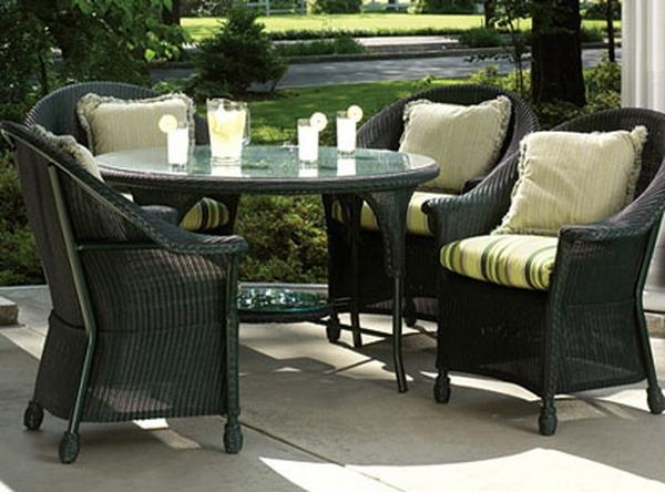 Wicker Furniture Set (Image 18 of 20)