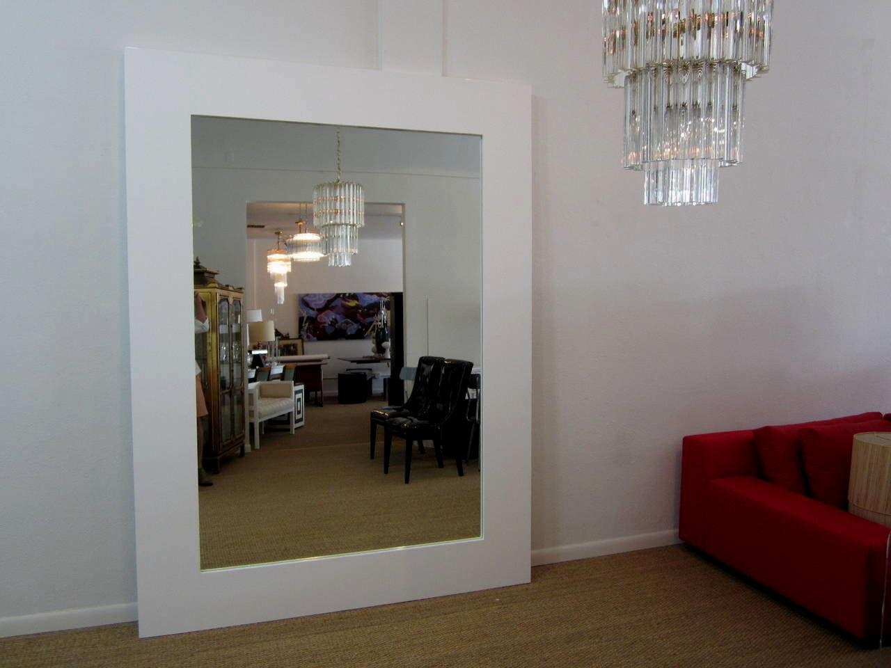 Wide Floor Length Mirror | Vanity Decoration With Long Black Wall Mirror (Image 20 of 20)