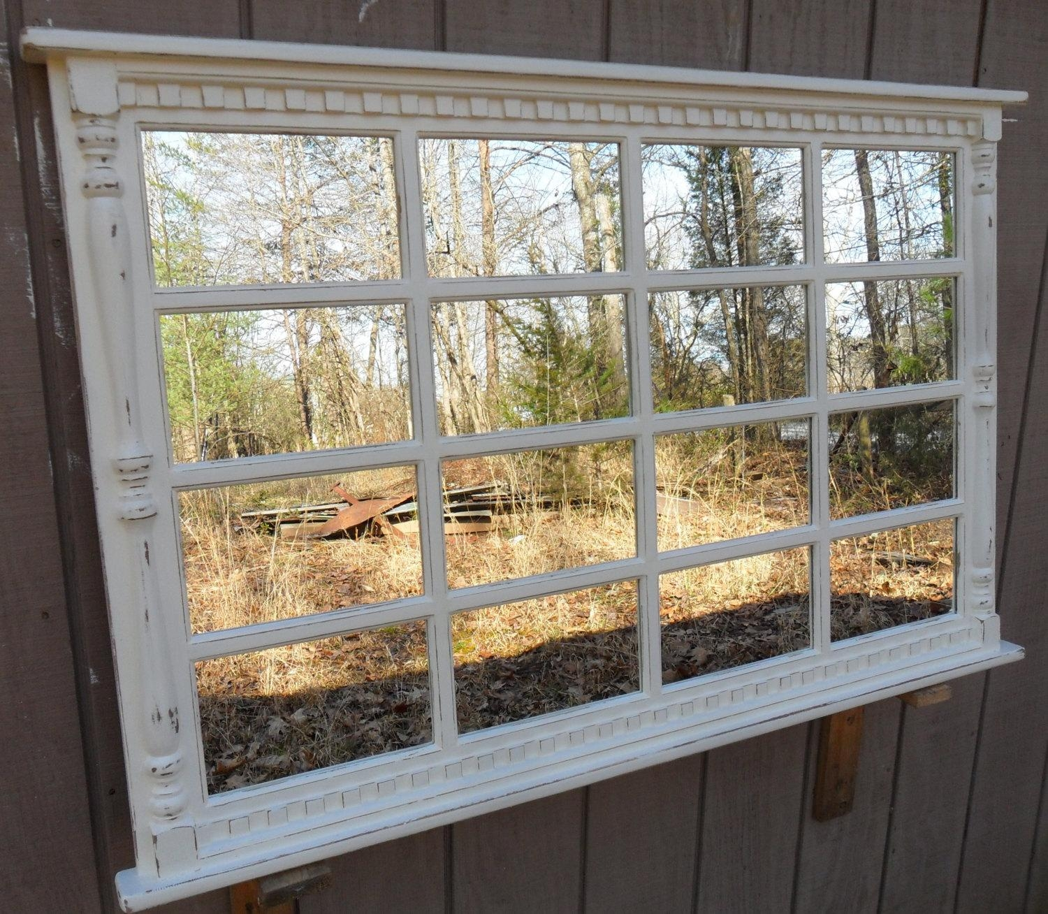 Window Mirror With Shutters 44 Awesome Exterior With Image Of With Regard To Window Shutter Mirror (Image 14 of 20)