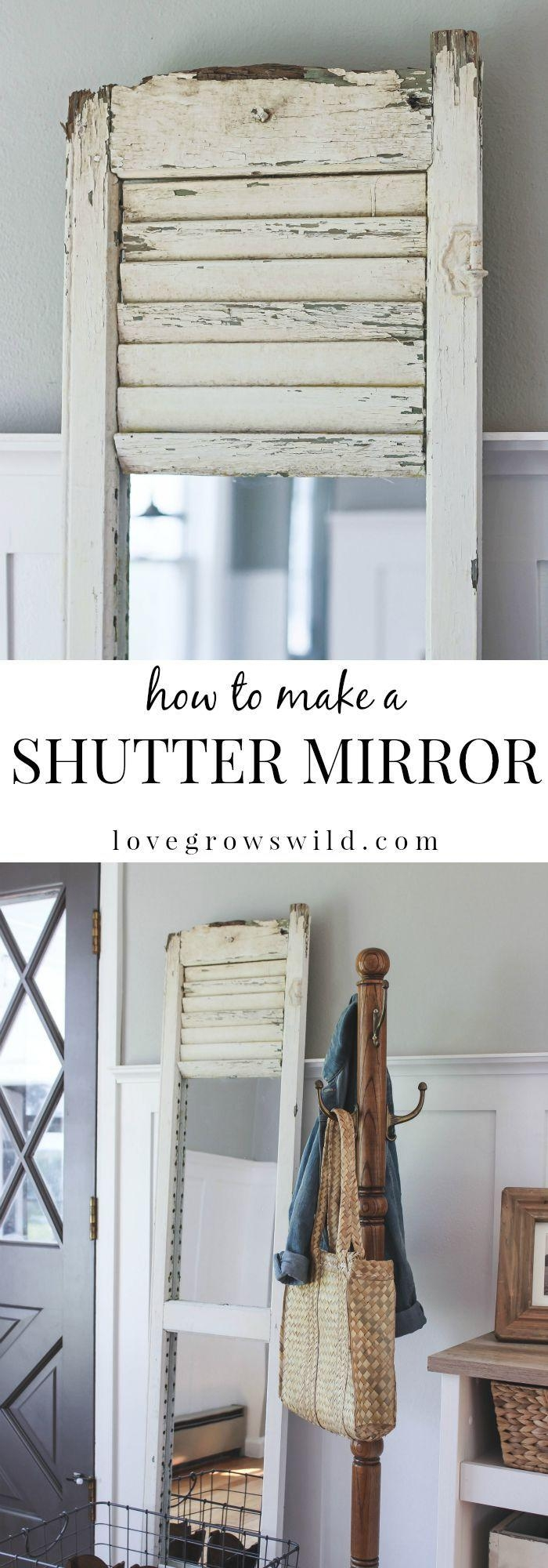 Window Mirror With Shutters – Harpsounds (Image 9 of 20)