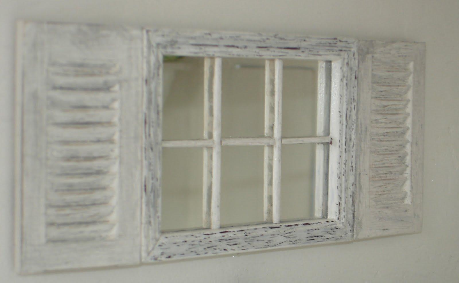 Featured Image of Window Shutter Mirror