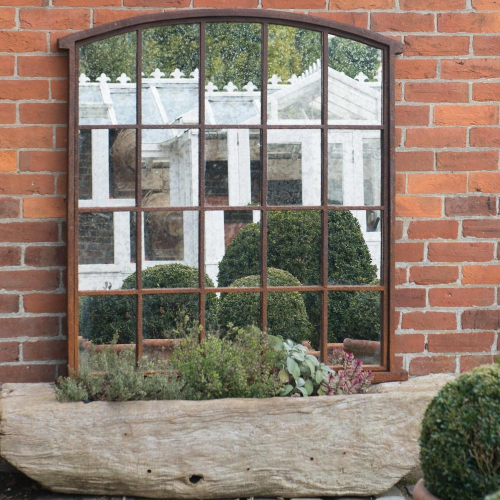Window Pane Mirror Sale All About House Design : Antique Window Pertaining To Garden Mirrors For Sale (Image 20 of 20)