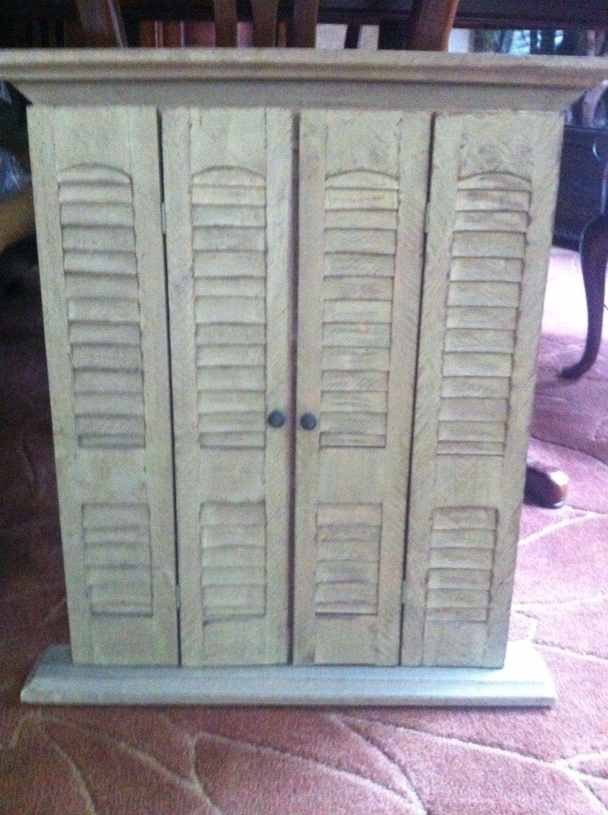 Window Pane Mirror With Shutters | Vanity Decoration Within Window Shutter Mirror (Image 18 of 20)