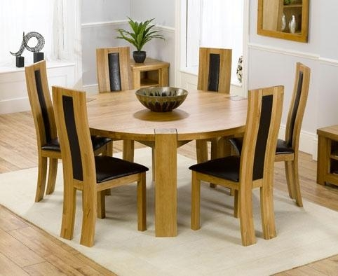 Winsome Cool Round Dining Tables 72 Inch Round Pedestal Dining In Circular Dining Tables (Image 20 of 20)