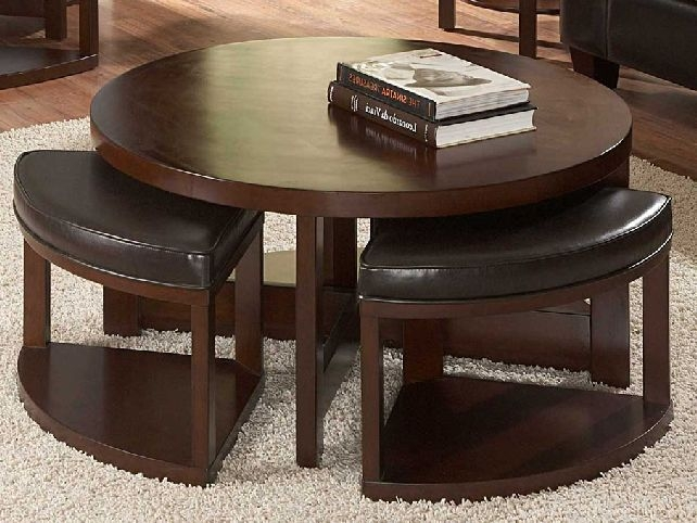 Wonderful Best Coffee Tables With Basket Storage Underneath Inside Best Round Coffee Table With Storage The Home Redesign (Image 45 of 50)