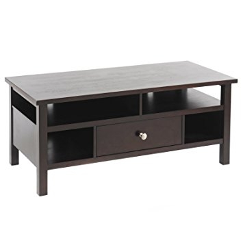 Wonderful Best Expresso TV Stands Regarding Amazon Bay Shore Collection Flat Screentube Tv Stand With (View 27 of 50)