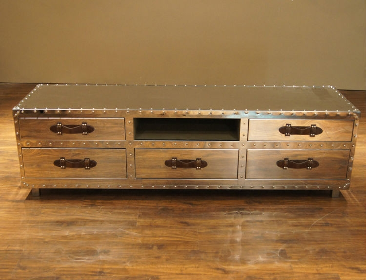 Wonderful Best Mirror TV Cabinets Intended For Victorian Tv Unit Vintage Tv Standwood Tv Standbedroom (Image 48 of 50)