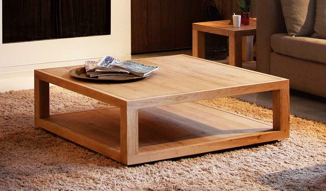 Wonderful Best Oversized Square Coffee Tables Pertaining To Square Metal Coffee Table Design 60 Magnificent R Thippo (View 15 of 50)