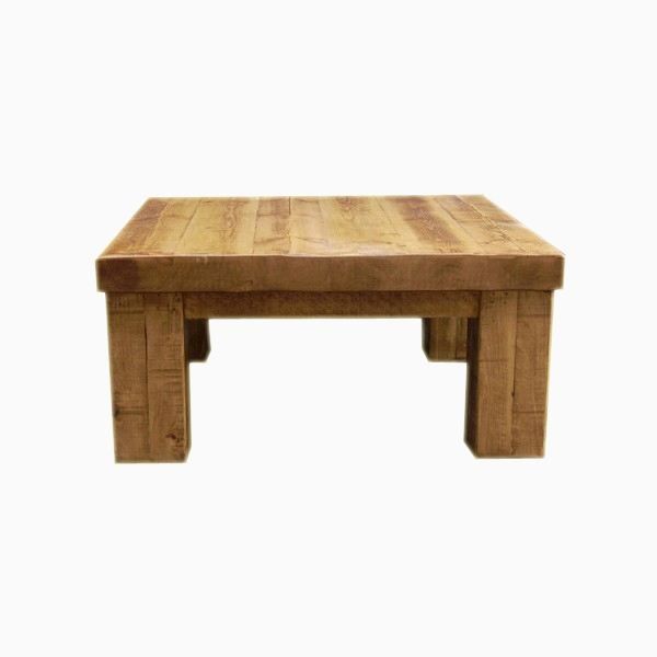 Wonderful Best Square Pine Coffee Tables Intended For Awesome Rustic Square Coffee Table On Wood Square Drawer Sofa (Image 50 of 50)